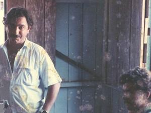 Chico Mendes na casa da família em Xapuri (AC) (Foto: (Arquivo de família))