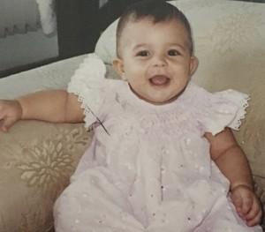 Carol Vianna criança (Foto: Arquivo Pessoal)