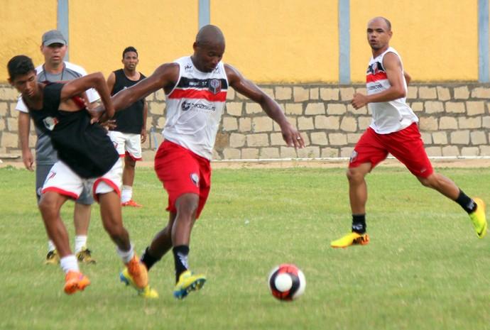 Santa Cruz de Natal jogo-treino Val Paraíba (Foto: Diego Simonetti/Santa Cruz)
