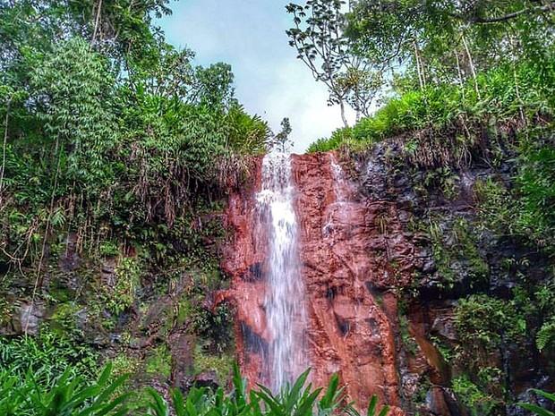 Cachoeiras de Brotas (Foto: Fabio Rodrigues/G1)