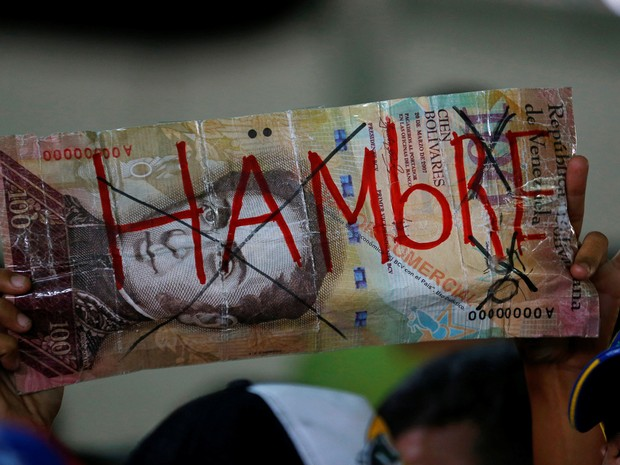 A crise está afetando gravemente um dos setores mais básicos da Venezuela, o de alimentos (Foto: Reuters/Ivan Alvarado)