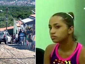 Jacimaria do Nascimento Vasconcelos foi morta no Bairro Nordeste, Zona Oeste de Natal (Foto: Divulgação/Polícia Militar)