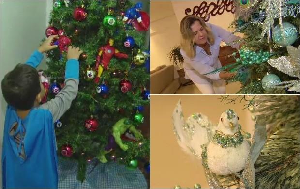 Conheça algumas idéias de Árvores de Natal personalizadas (Foto: Amazônia Revista)