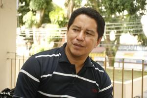 Deley Santos, presidente do Independente de Tucuruí (Foto: Marcelo Seabra - O Liberal)