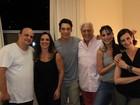 Antônio Fagundes estreia peça com o filho, ex-mulher e a atual namorada