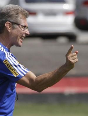 Oswaldo de Oliveira treino Flamengo