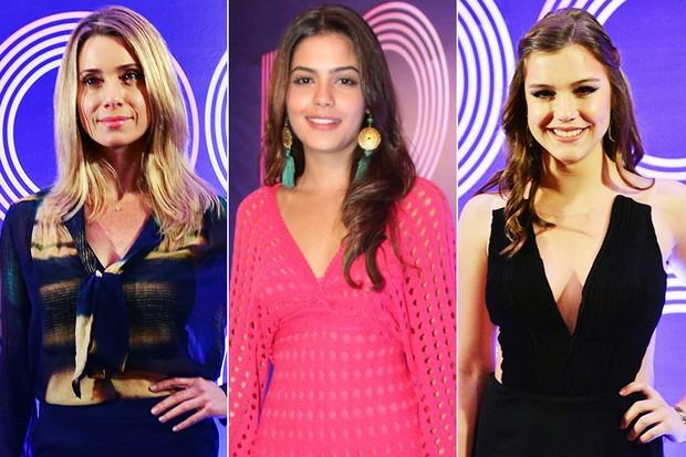 Letícia Spiller, Julia Dalavia e Alice Wegmann (Foto: João Miguel Junior / TV Globo | Foto Rio News)