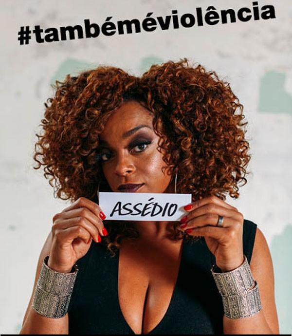 Campanha #TambémÉViolência joga luz sobre o relacionamento abusivo (Foto: Camila Cornelsen)