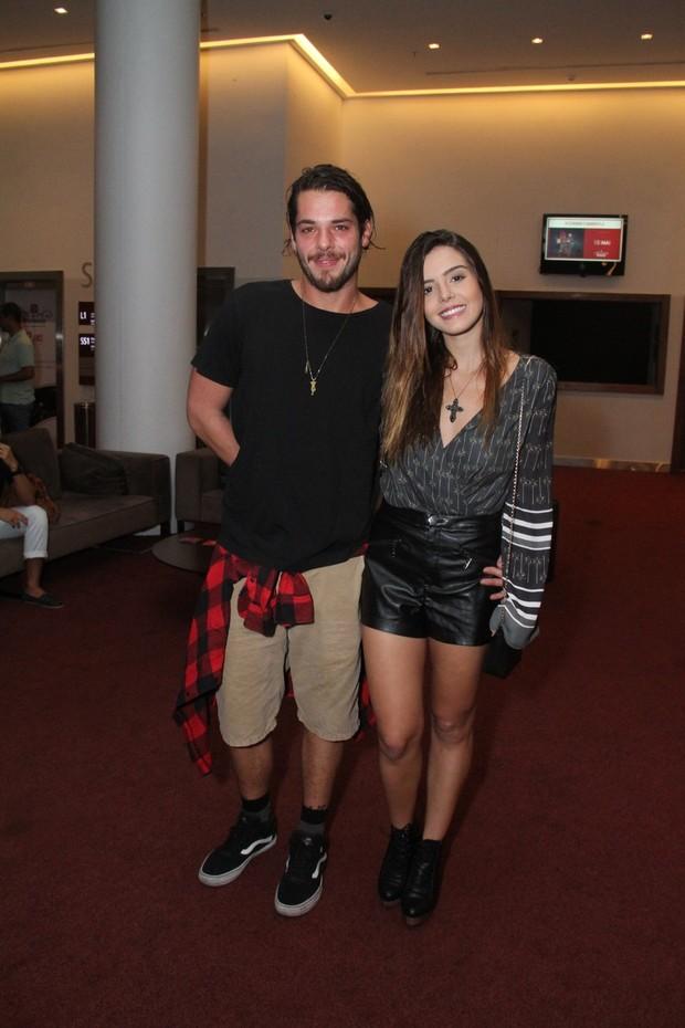 Gian Luca e Giovanna Lancellotti (Foto: Thyago Andrade- Brazilnews)