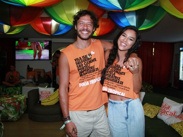 Nando Rodrigues e Yanna Lavigne (Foto: Thyago Andrade-Brazilnews)