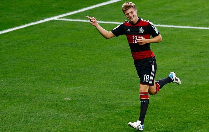 Toni Kroos gol Alemanha x Brasil, Mineirão (Foto: Reuters)