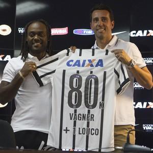 Vagner Love no Corinthians (Foto: Daniel Augusto Jr. / Ag. Corinthians)