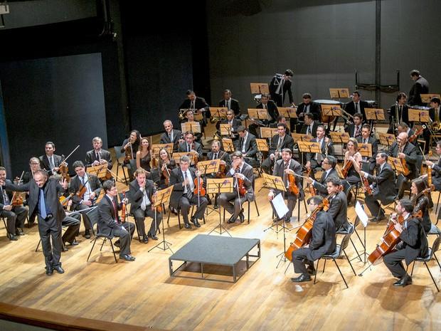 Orquestra Sinfônica de Piracicaba (Foto: Rodrigo Alves/Divulgação)