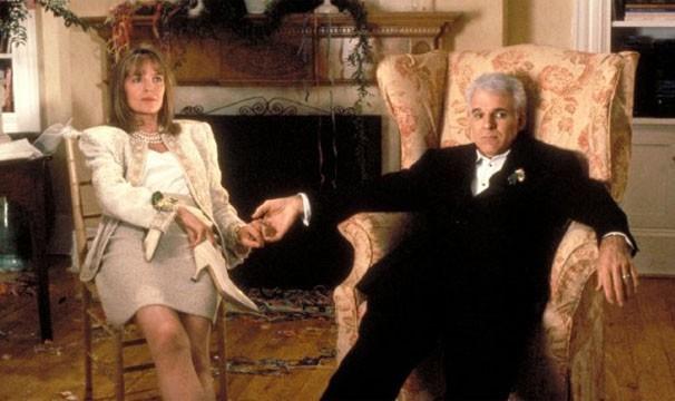 Steve Martin e Diane Keaton interpretam os pais da noiva (Foto: Divulgação / Reprodução)