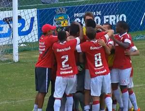 Internacional vence o Vasco e está na final da Copa Rio Sub-17 (Foto: Frame Sportv)