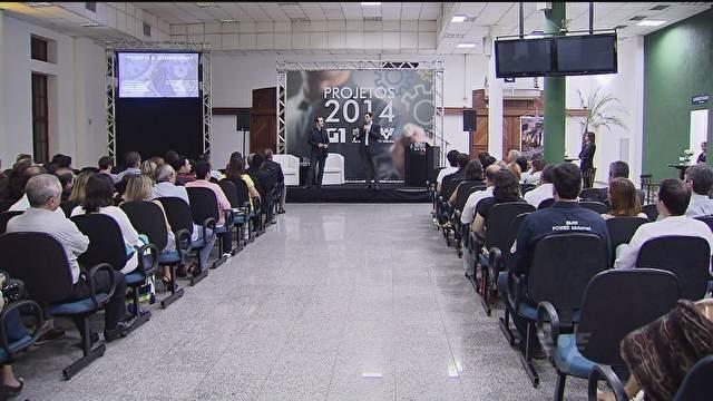 Lançamento dos projetos da TV Tribuna para 2014 (Foto: Reprodução/TV Tribuna)