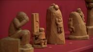 Exposição abrange 250 obras de Cícero Alves dos Santos