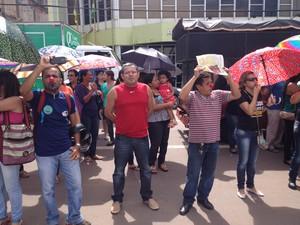 Paralisação será de três dias em todo o Amapá (Foto: John Pacheco/G1)