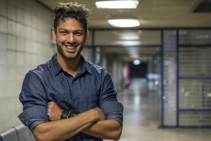 Luiz Felipe Boletim BBB (Foto: Artur Meninea/Gshow)
