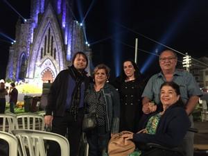 Marta e a família, de Aracaju (Foto: Mara Polo/Divulgação)