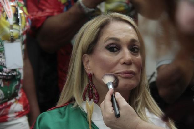 Susana Vieira na Sapucaí (Foto: Isac Luz / EGO)