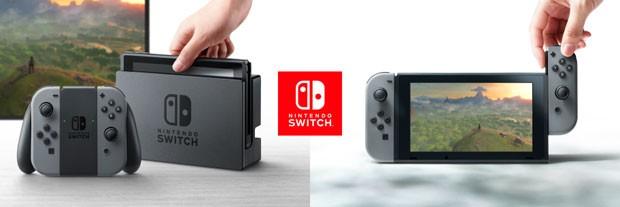 Nintendo Switch, novo videogame da Nintendo. (Foto: Divulgação/Nintendo)