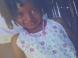 Any, de 4 anos, não resistiu ao tiro no abdômen (Foto: Reprodução / Inter TV)
