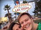 Thais Fersoza curte Las Vegas com Michel Teló: 'Amo muito esse marido'