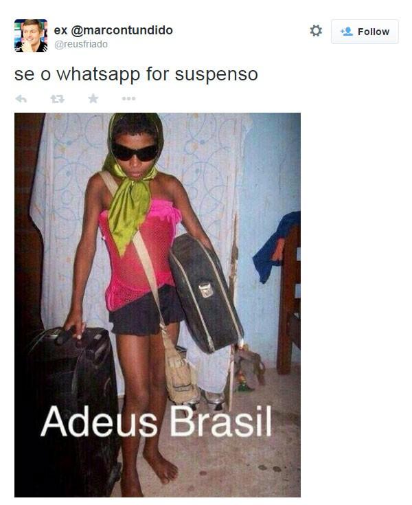 WhatsApp meme13 (Foto: Reprodução/Twitter)