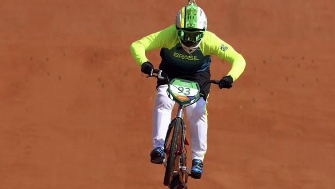 Priscilla Carnaval, ciclismo BMX (Foto: Reuters)