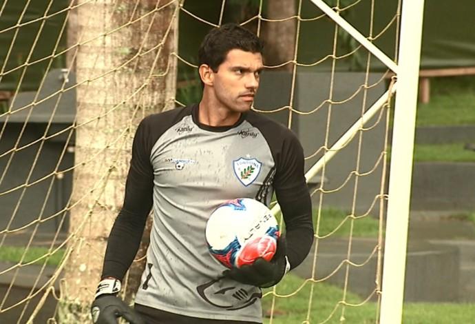 Vitor goleiro Londrina (Foto: Reprodução/RPC)