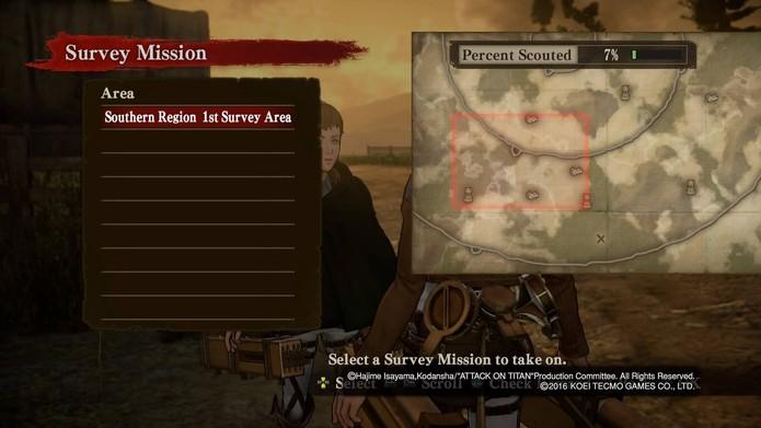 Como jogar Attack on Titan em todos os modos (Foto: Reprodução/Felipe Vinha)