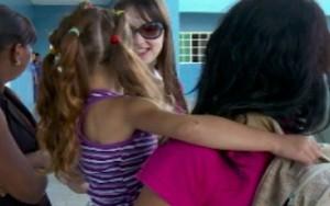 Criança relata maus tratos da mãe no Distrito Federal (rede globo)