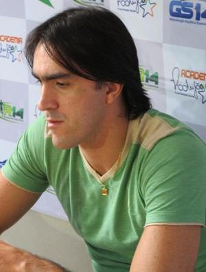 Rodrigão deve disputar sua última Olimpíada (Foto: Bruno Gutierrez / Globoesporte.com)