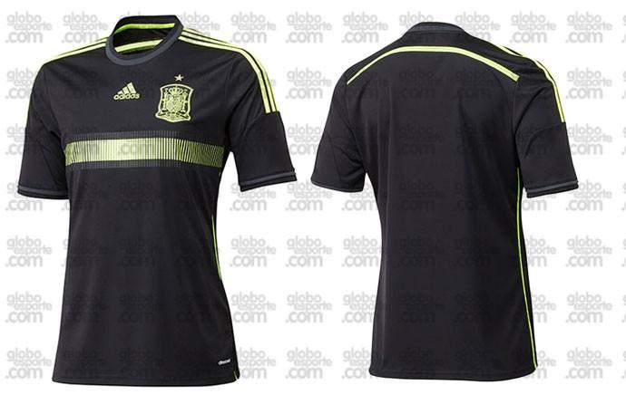 camisa Espanha nova