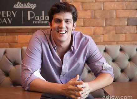 Comediante na área! Rafael Infante grava participação especial em Geração Brasil