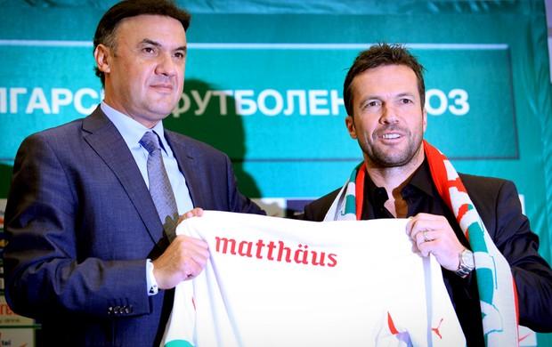 lothar matthaus novo treinador da Bulgária (Foto: agência AP)