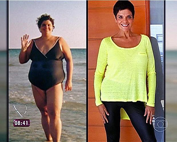 Peté Camargo emagreceu 76 kg em quatro anos  (Foto: Mais Você/TV Globo)