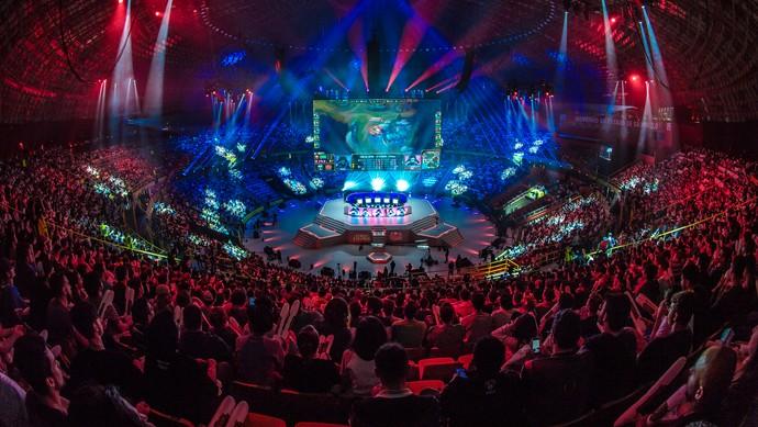 Ibirapuera - League of Legends - Final CBLoL (Foto: Divulgação / Riot)