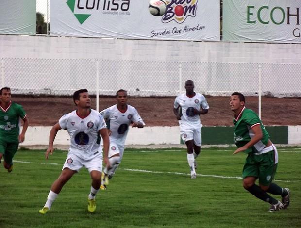 Alecrim vence o Santa Cruz-RN no Ninho do Periquito (Foto: Tiago Menezes)