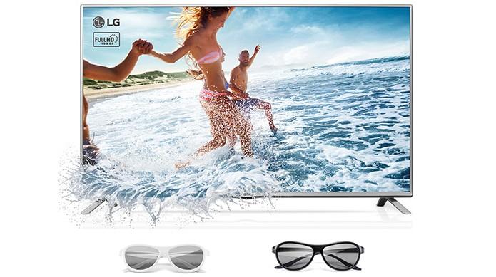 Usuário pode optar por Smart TV com tecnologia 3D (Foto: Divulgação/LG) (Foto: Usuário pode optar por Smart TV com tecnologia 3D (Foto: Divulgação/LG))