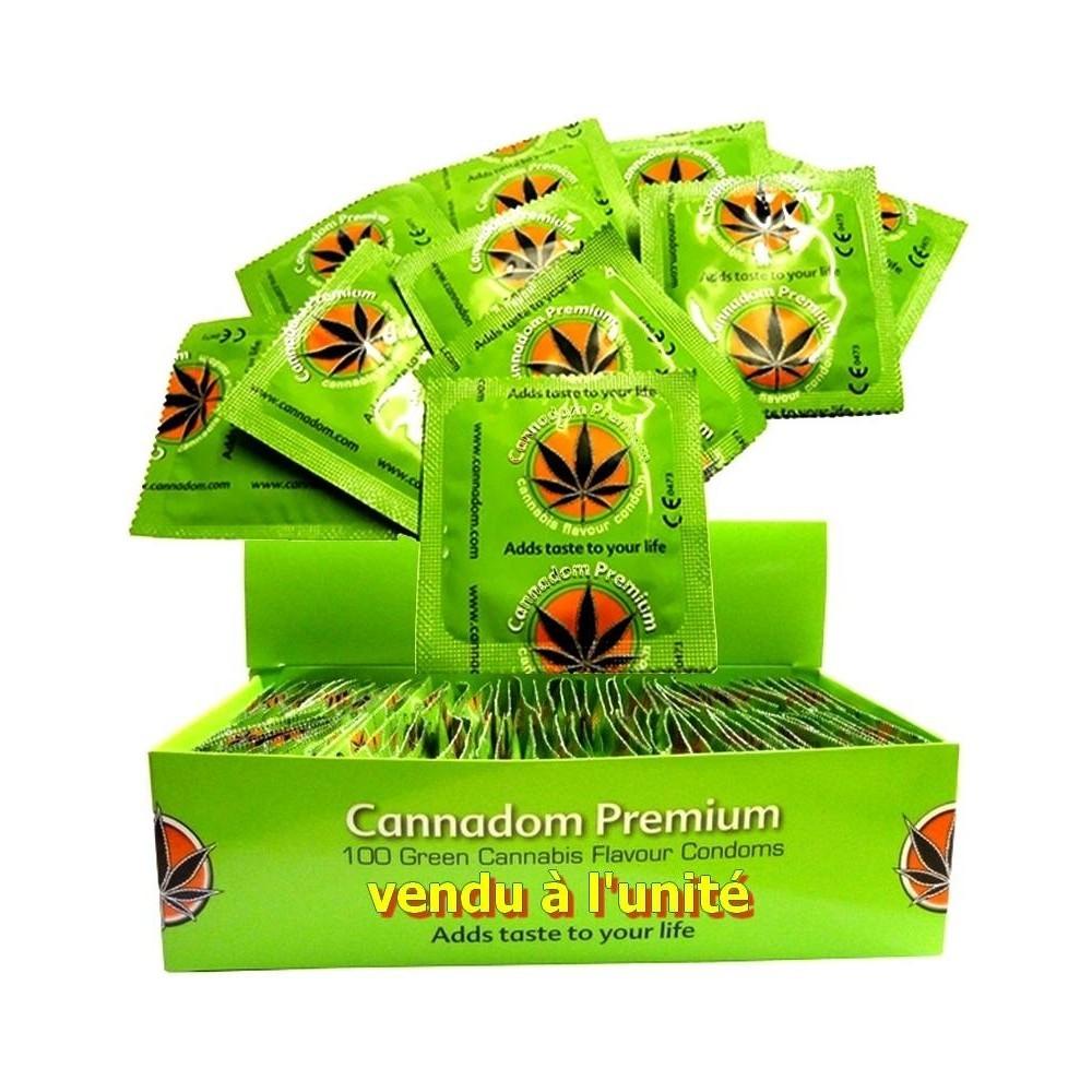 Camisinha sabor cannabis (Foto: Divulgação/Cannadom)