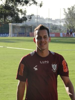 Rodriguinho no treino do América-MG (Foto: Gabriel Duarte / Globoesporte.com)