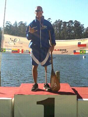 Caio Ribeiro atleta da paracanoagem (Foto: Reprodução)