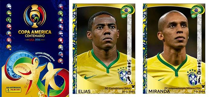 BLOG: Com Neymar, álbum da Copa América só tem metade dos convocados por Dunga
