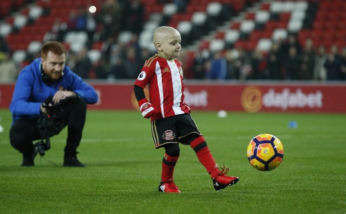 Bradley Lowery torcedor Sunderland gol (Foto: Andrew Yates/Reuters)
