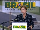 GO: visita de Dilma provoca aplausos, vaias e discursos sobre tolerância