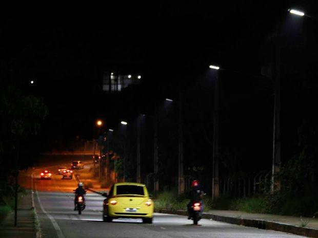 Trabalho começou neste fim de semana, no trecho de acesso pela Avenida Ephigênio Sales (Foto: Divulgação)
