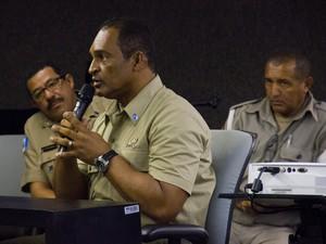 Reinaldo Correia é o quarto réu a ser interrogado. (Foto: Jonathan Lins/G1)