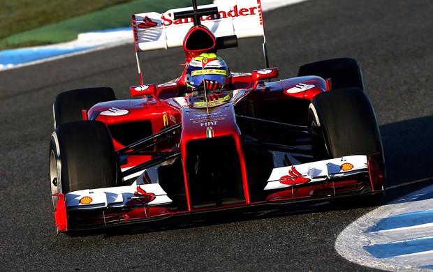 Felipe Massa Ferrari testes Jerez de la frontera (Foto: Agência Getty Images)